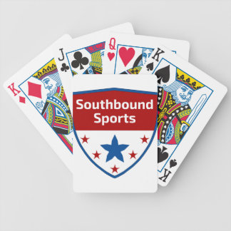 Southbound Sports Crest Logo Bicycle Playing Cards