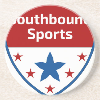 Southbound Sports Crest Logo Coaster