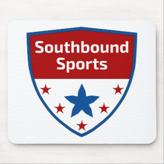Southbound Sports Crest Logo Mouse Pad