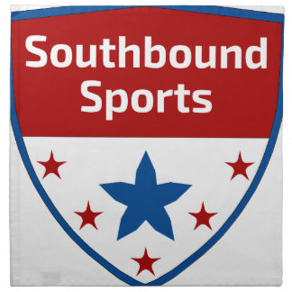 Southbound Sports Crest Logo Napkin