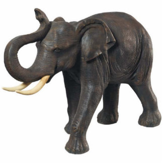 Southeast Asian Elephant Photo Sculpture Magnet