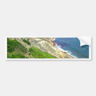 Southeastern Bluffs Block Island Bumper Sticker