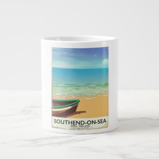 Southend-on-Sea, Essex Vintage travel poster Large Coffee Mug