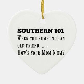 Southern101-1 Ceramic Ornament
