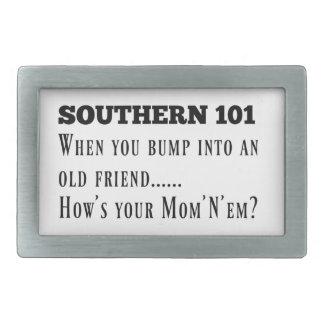 Southern101-1 Rectangular Belt Buckle