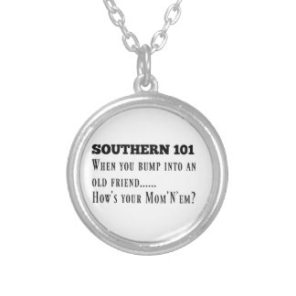 Southern101-1 Silver Plated Necklace