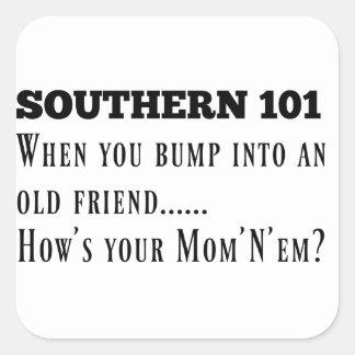 Southern101-1 Square Sticker