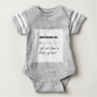 southern101-2 baby bodysuit