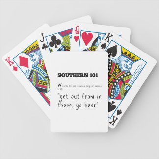 southern101-2 bicycle playing cards