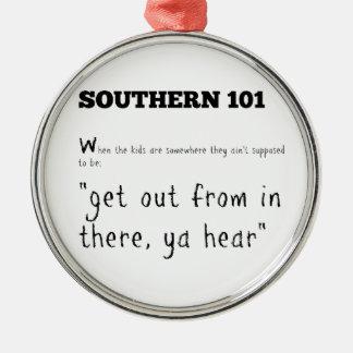 southern101-2 metal ornament