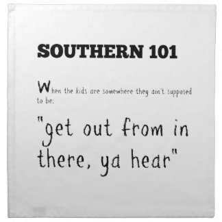 southern101-2 napkin
