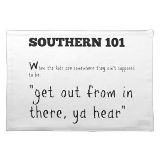 southern101-2 placemat
