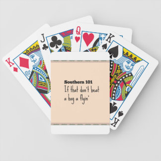 southern101-3 bicycle playing cards