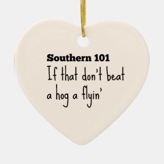 southern101-3 ceramic ornament