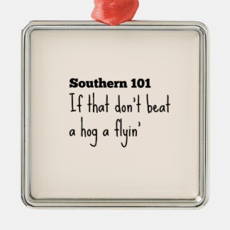 southern101-3 metal ornament