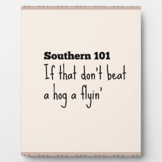 southern101-3 plaque