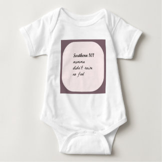 southern101-4 baby bodysuit