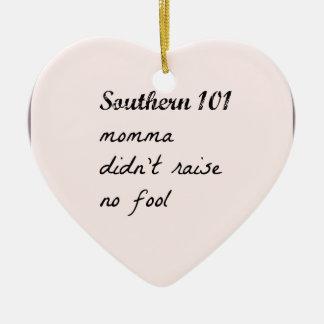 southern101-4 ceramic ornament