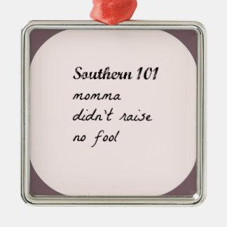 southern101-4 metal ornament