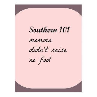 southern101-4 postcard