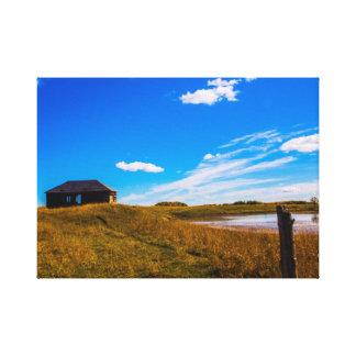 Southern Alberta Landscape Canvas