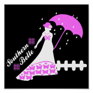SOUTHERN BELLE POSTER