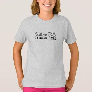 Southern Belle Raising Hell T-Shirt