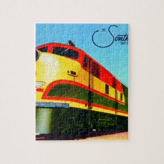 Southern Belle Train Jigsaw Puzzle