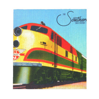 Southern Belle Train Notepad