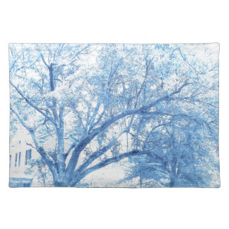 Southern Blue Oak Toile Placemat