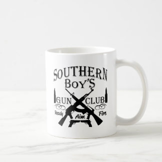 Southern Boy Girl Redneck Gun Club Coffee Mug