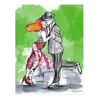 Southern Breezes Tango Postcard