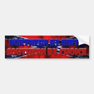 Southern by Choice II Bumper Sticker
