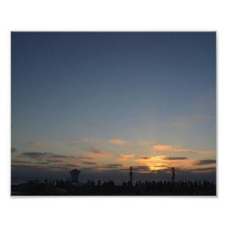 Southern California Beach Sunset Photo Print