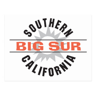 Southern California - Big Sur Postcard