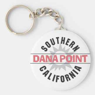 Southern California - Dana Point Basic Round Button Keychain