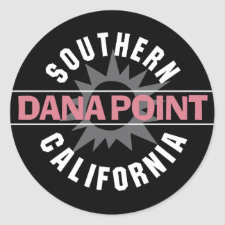 Southern California - Dana Point Classic Round Sticker