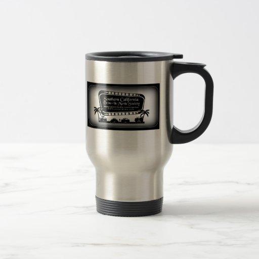 Southern California Drive-In Movie Society Swag Coffee Mug