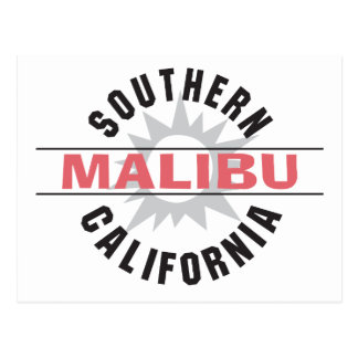 Southern California - Malibu Postcard
