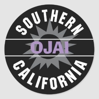 Southern California - Ojai Classic Round Sticker
