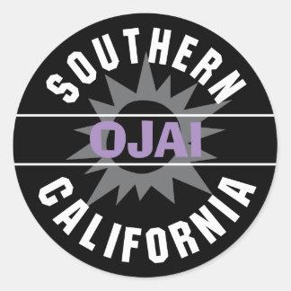 Southern California - Ojai Round Sticker