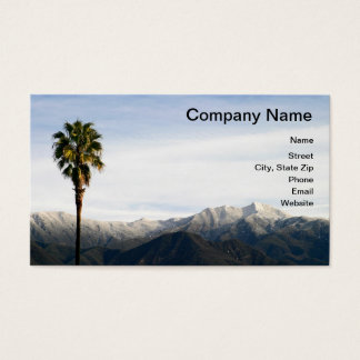 Southern California Snow Business Card