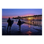 Southern California Sunset Poster