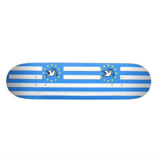 Southern Cameroons, Cameroon flag Skate Deck