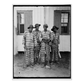 Southern chain gang 1900-1906 poster