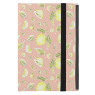 Southern Charm Lemon Pattern Ipad Case