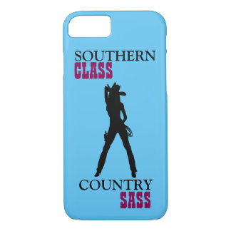 Southern Class Country Sass iPhone Case