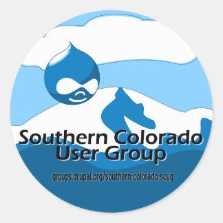 Southern Colorado User Group Round Sticker