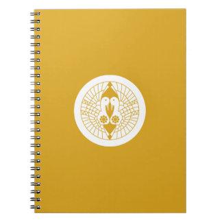 Southern crane spiral notebook