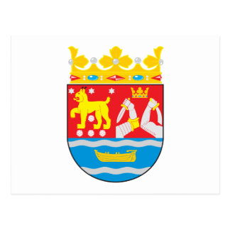 Southern Finland Coat of Arms Postcard